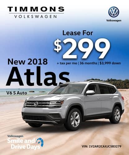 New 2018 Atlas V6 S Automatic
