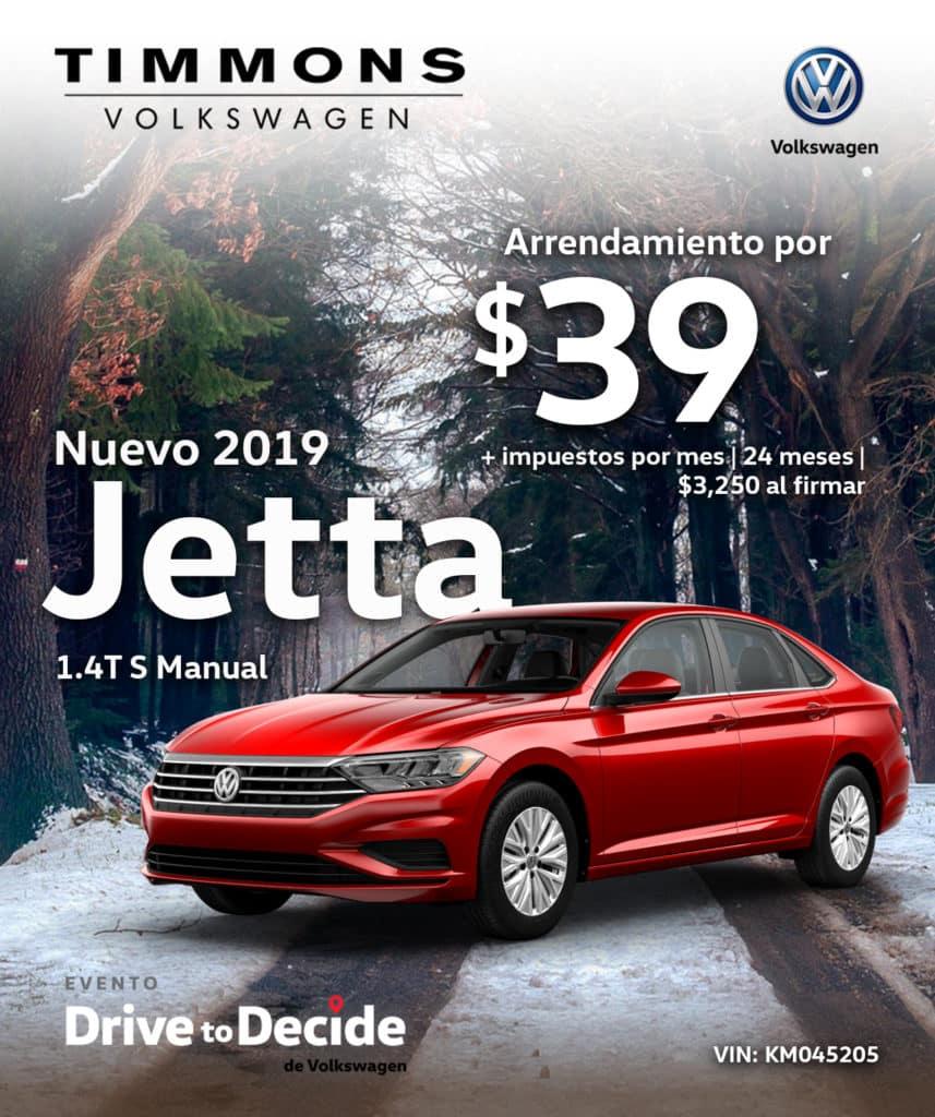 Nuevo 2019 Jetta 1.4T S Manual