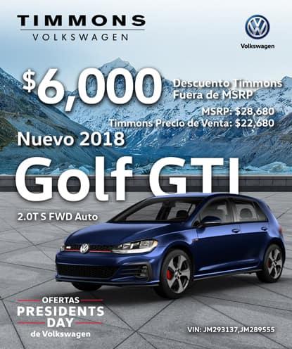 Nuevo 2017 Golf GTI S AWD Automático