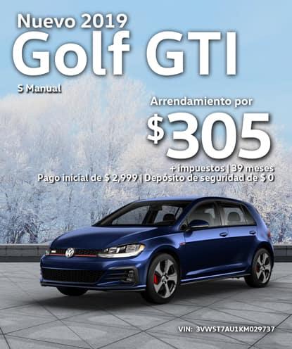 Nuevo 2019 Volkswagen Golf GTI S Manual