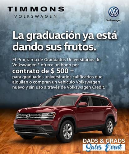 El Programa de Graduados Universitarios de Volkswagen