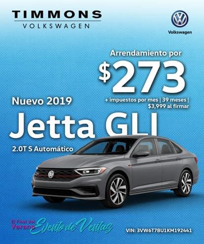 Nuevo 2019 Volkswagen Jetta GLI 2.0T S Automático