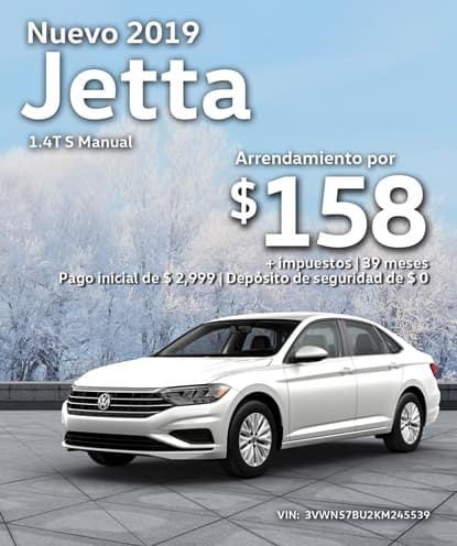 Nuevo 2019 Volkswagen Jetta S Manual
