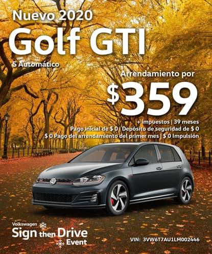 Nuevo 2020 Volkswagen Golf GTI S Automatico