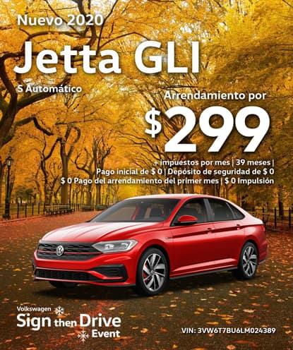 Nuevo 2020 Volkswagen Jetta GLI S Automático