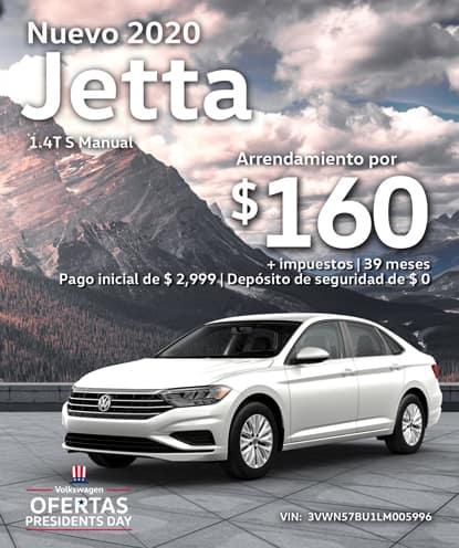 Nuevo 2020 Volkswagen Jetta S Manual