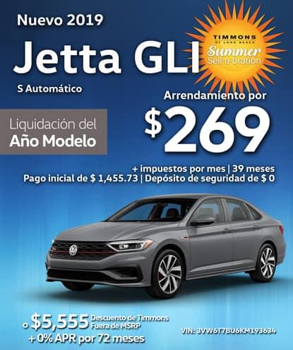 Nuevo 2019 Volkswagen Jetta GLI S Automático