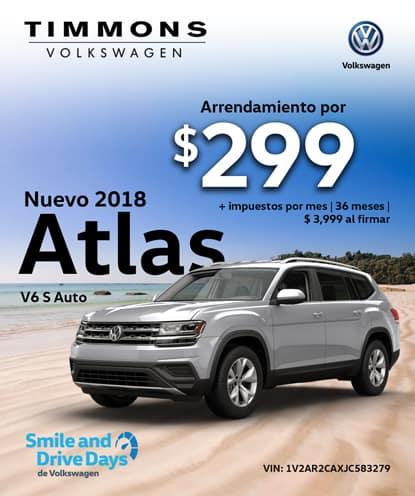 Nuevo 2018 Atlas V6 S Automático