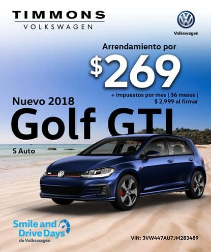 Nuevo 2018 Golf GTI S Automático