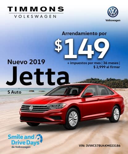 Nuevo 2019 Jetta 1.4T S Automático