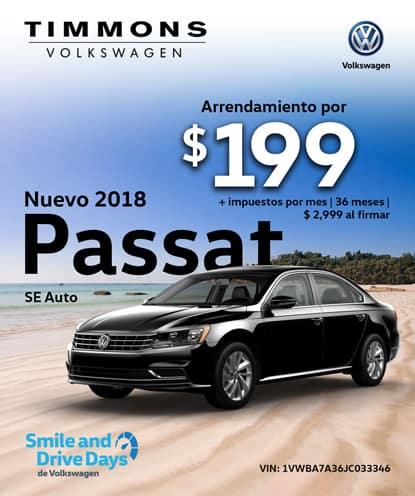 Nuevo 2018 Passat SE Automatic