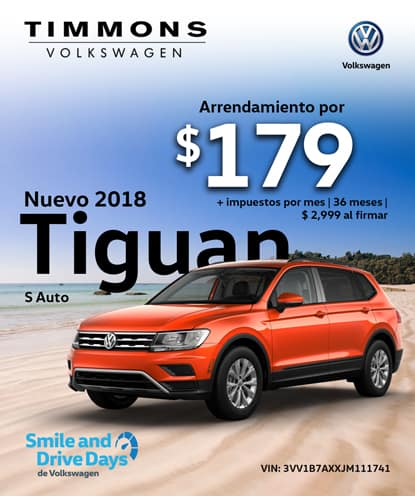 Nuevo 2018 Tiguan S Automático