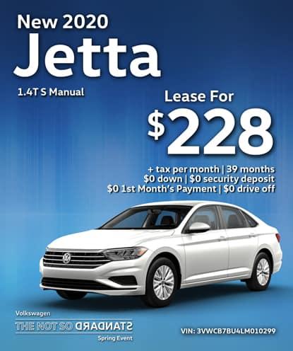 New 2020 Jetta S Automatic