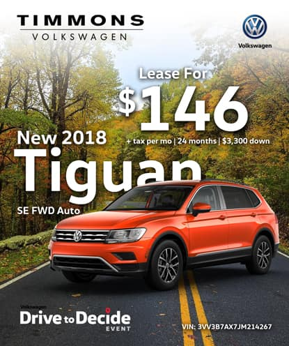 New 2018 Tiguan 2WD Automatic