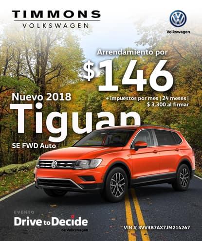 Nuevo 2018 Tiguan 2WD Automático
