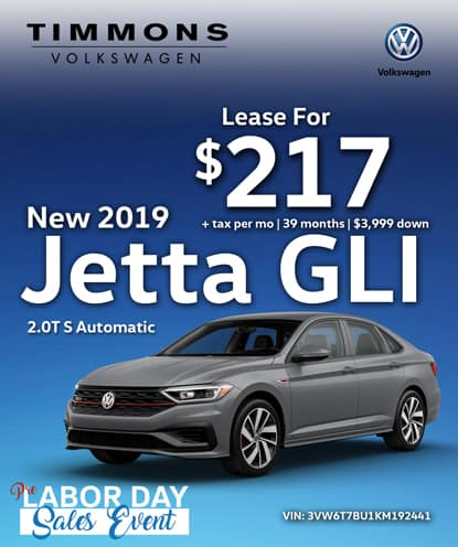 New 2019 Volkswagen Jetta GLI 2.0T S Automatic