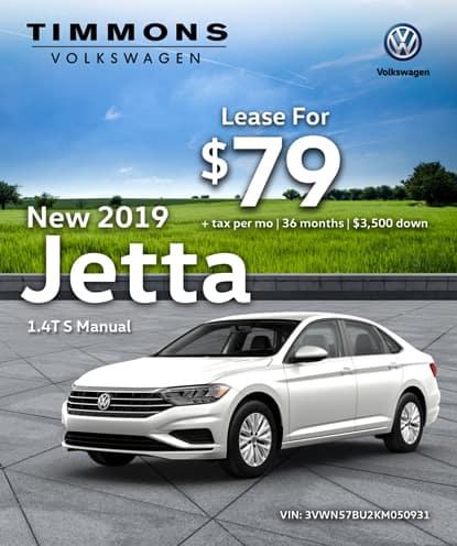 New 2019 Jetta 1.4T S Manual