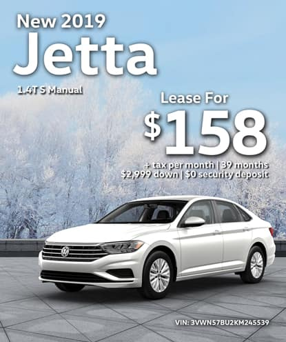 New 2019 Jetta S Automatic