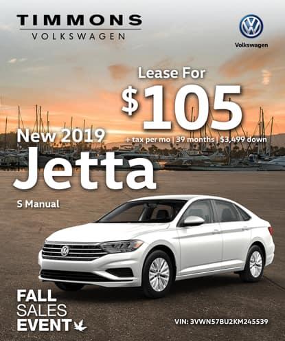 New 2019 Jetta S Manual
