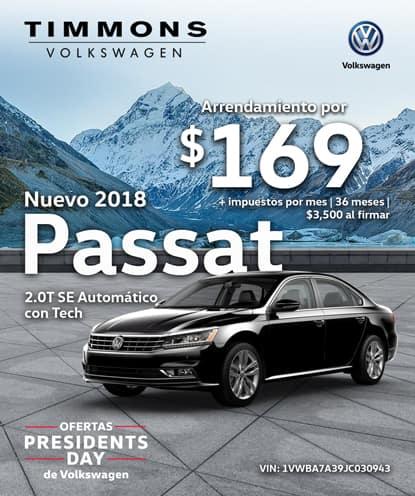 Nuevo 2018 Volkswagen Passat 2.0T SE Automático con Tecnología