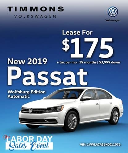 New 2019 Passat Wolfsburg Edition Automatic