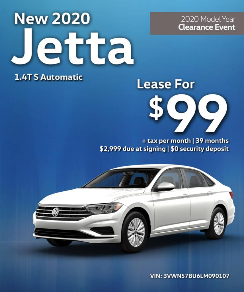 New 2020 Jetta S Automatic