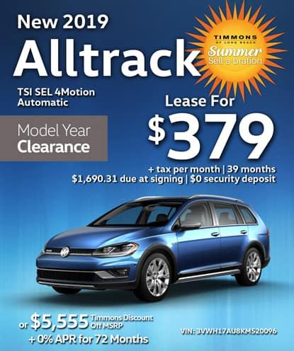 New 2019 Volkswagen Alltrack TSI SEL 4Motion Automatic