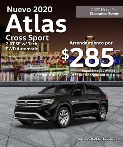 Nuevo 2020 Volkswagen Atlas Cross Sport 2.0T SE con Tech Automático