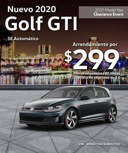 Nuevo 2020 Volkswagen Golf GTI SE Automatico