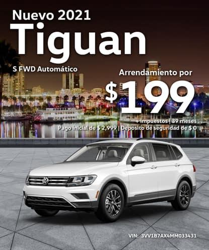 Nuevo 2021 Volkswagen Tiguan S FWD Automático