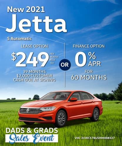 New 2021 Jetta S Automatic