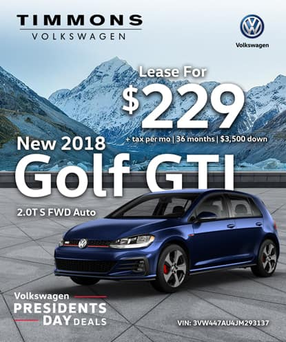 New 2018 GTI 2.0T S