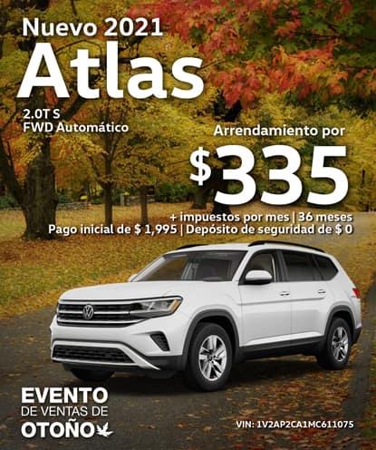 Nuevo 2021.5 Volkswagen Atlas S FWD Automático