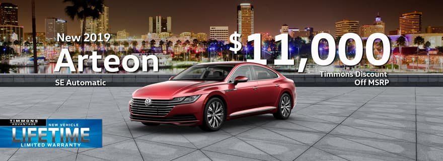 Huge Cash off MSRP from Timmonsn Long Beach on VW Arteon