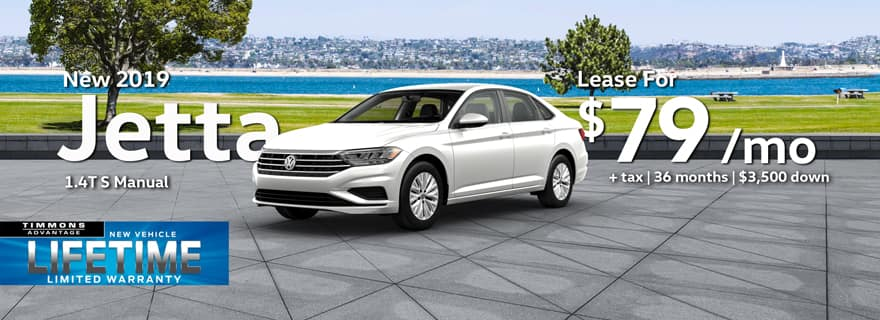 2019 Jetta April Special Offer