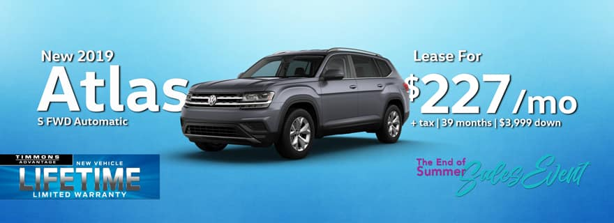 2019 Atlas at Timmons Volkswagen Long Beach