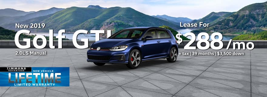 New 2019 Volkswagen Golf GTI S at Timmons Long Beach