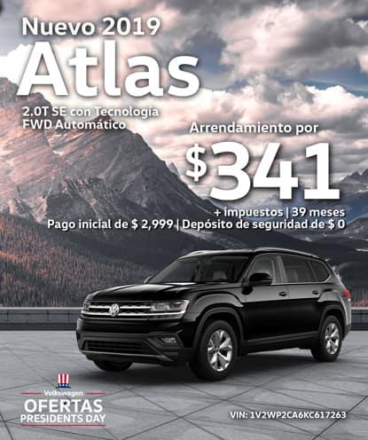 Nuevo 2019 Volkswagen Atlas 2.0T SE con Tech  FWD Automático