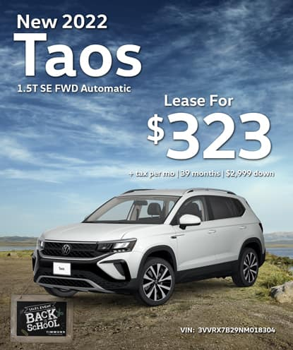 New 2022 Volkswagen Taos 1.5T SE FWD Automatic