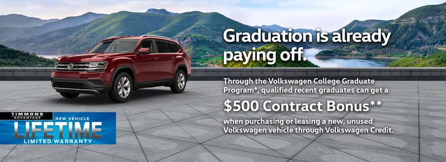 VW College Graduate Program at Timmons Long Beach