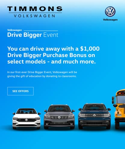 $1,000 Drive Bigger Purchase Bonus