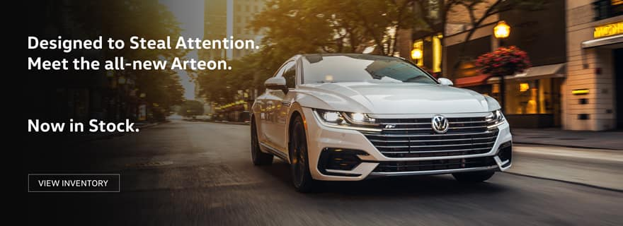All New VW Arteon in stock now at Timmons Volkswagen in Long Beach
