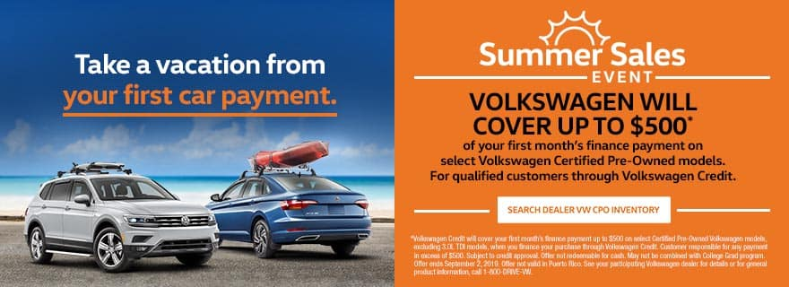 Timmons VW CPO Summer Sales Event