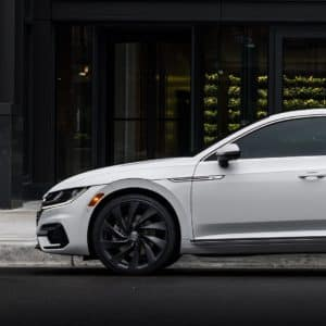 The award-winning Arteon is available at Timmons VW of Long Beach