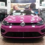 2019 VW Golf R in PURPLE with 7-Speed DSG Automatic with Tiptronic at Timmons Long Beach