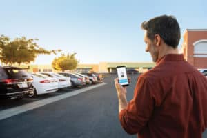 Updated VW Car Net mobile app has more cool remote access features. Available at Timmons Volkswagen Long Beach