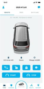 Updated VW Car Net mobile app has more cool features. Available at Timmons Volkswagen Long Beach