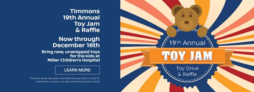 Timmons of Long Beach Toy Jam Toy Drive and Raffle