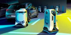 Electric Vehicle charging robot prototype