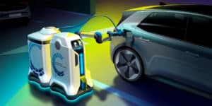EV Charging Robbot Prototype